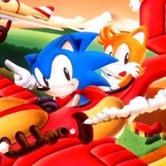Sonic and Tails Account Logo